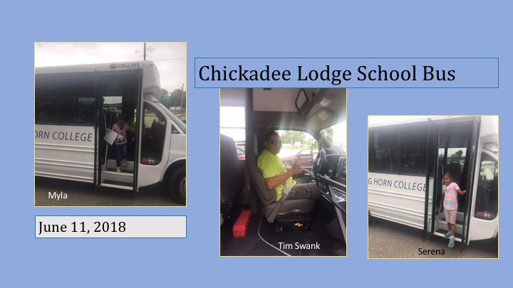 Chickadeelodge Lodge 2018 Report